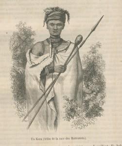 Bâton Hottentot Mag Pitt juillet 1859