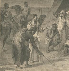 Bâton pour tracer au sol Magpitt 1852 p401