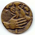 Transmission des métiers médaille REVOL