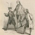 Le comte d'Artois funambule