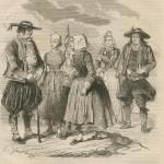Bretons au bâton à gros bout