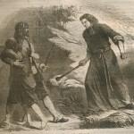 moine au bâton