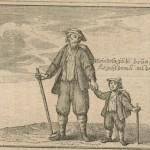 Le père et son fils au bâton