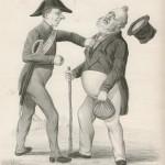 Louis-Philippe et son bâton d'exilé