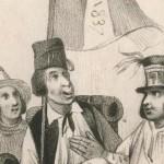 1837 Hampe de drapeau