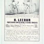 Affiche Lecour