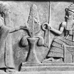 Le roi Ur Nammu et le dieu-lune Nanna