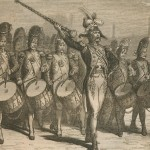 tambour-major sous Napoléon