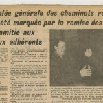 Article sur les cannes des cheminots retraits en 1964