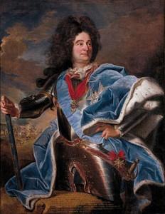 Le maréchal de Villars par Rigaud