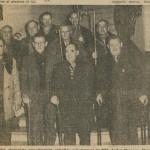 Les cheminots retraités en 1964