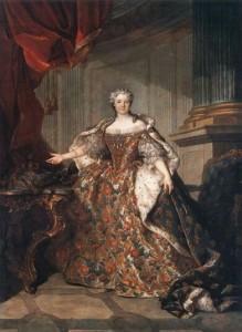 Marie Leczinska reine de France