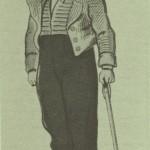 Homme du Bourbonnais, image d'Epinal 1860