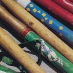 bâtons de la San Lorenzo © Dominique Chauvet Milan Presse