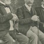 cannes du président Loubet et du colonel Lamy (1905)
