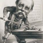 Paul Féval caricaturé par Carjat