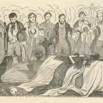 enterrement d'un compagnon 1845