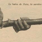 bâton de la sorcière Naïa de Rochefort-en-Terre