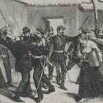 La rixe de Châteauvillain    en 1886
