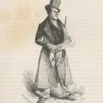 Le flâneur par Henry Monnier