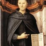 st Nicolas de Tolentino par Perugin