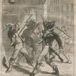 bataille de faubouriens et de petits sucrés en 1795