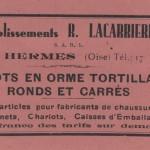 bâtonnet-tendeur LACARRIERE-1932