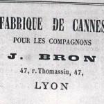 annonce Bron 1883