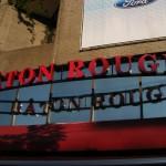 Enseigne du restaurant Bâton Rouge à Montréal