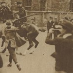 1 -  Police dispersée à coups de canne Londres 1919