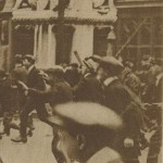 2 - Police dispersée à coups de canne Londres 1919