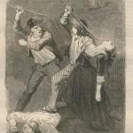 Rixe dans Le Compagnon du tour de France - 1841
