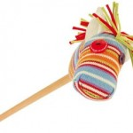 Cheval-bâton en crochet - Le Petit Zèbre