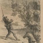 bâton de chasseur d'insectes en 1870