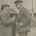 Le général Poole à Arkhangel en 1918