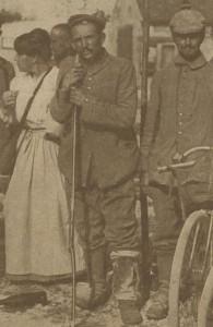 Prisonnier allemand près de Meaux - 1914