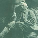 blessé au bâton en 1916