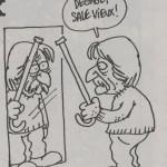 Cavanna vu par Charb