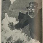 affiche de Maurice Cléret vers 1900