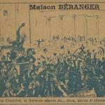 Bagarre à la chambre des députés en 1898