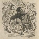 Batoniste au Champs-Elysées par Gustave Doré - 1856