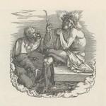 DURER Le Christ au roseau de la Grande Passion