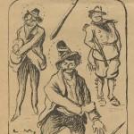 Le gourdin fasciste - Le Rire décembre 1922