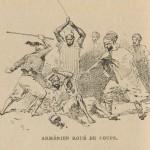 Arménien battu à coups de bâton par des Turcs