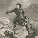 Pierre le Grand sauvant sa flotte