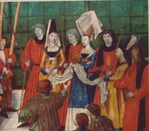 Remise du prix au vainqueur d'un tournoi - vers 1488