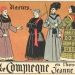 juges diseurs - carte postale Pinchon