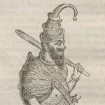 Bâton d'akali Sikh en 1836