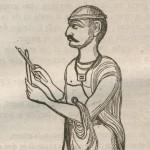Bâtonnets d'un soutra indien en 1836