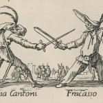 Duel du capitaine Fracasse au 17e siècle